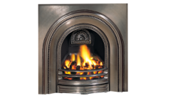 Decorative Arched Insert Classic Fireplace