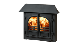 Stockton 8 Inset Convector Stove Low Canopy MK2