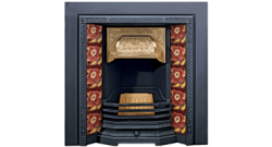 Victorian Tiled Insert Classic Fireplace