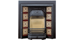 Victorian Tiled Front Classic Fireplace
