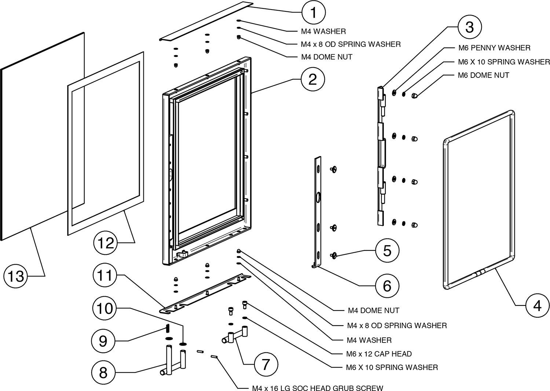 Vision Medium Slimline - Wood (RVN-MEDSLW) - Stovax Spare Parts